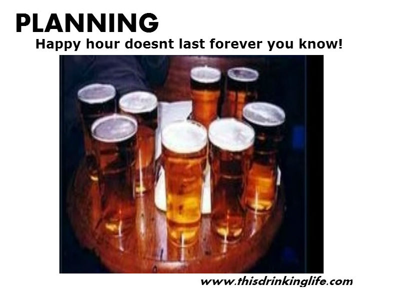 planning for drinking