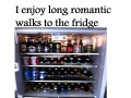 long walk to fridge